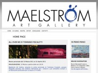 grafica sito web maelstromart.it