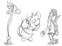sketch a matita characters vari - Dgsign