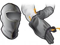illustrazione accessori uso motociclistico