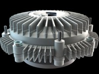 modello 3d fan clutch - Dgsign