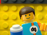 rendering 3D Lego character - dgsign