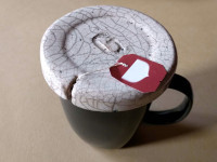 coperchio accessorio per mug - DGsign pottery