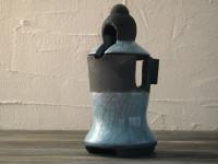 Geisha raku lantern - DGsign pottery