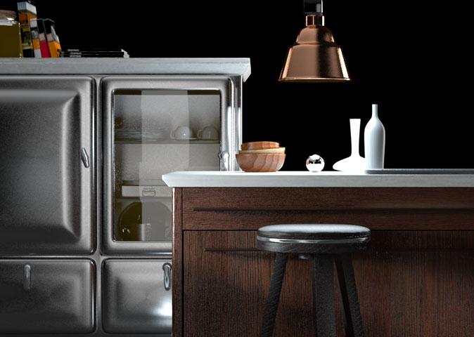 Cucina vintage dgsign onweb