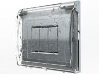cover trasparente placca luce BTicino - DGsign