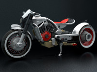 classc bike 3D model - concept DGsign