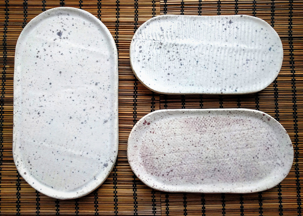 vassoi ovali ceramica texture - Dgsign pottery