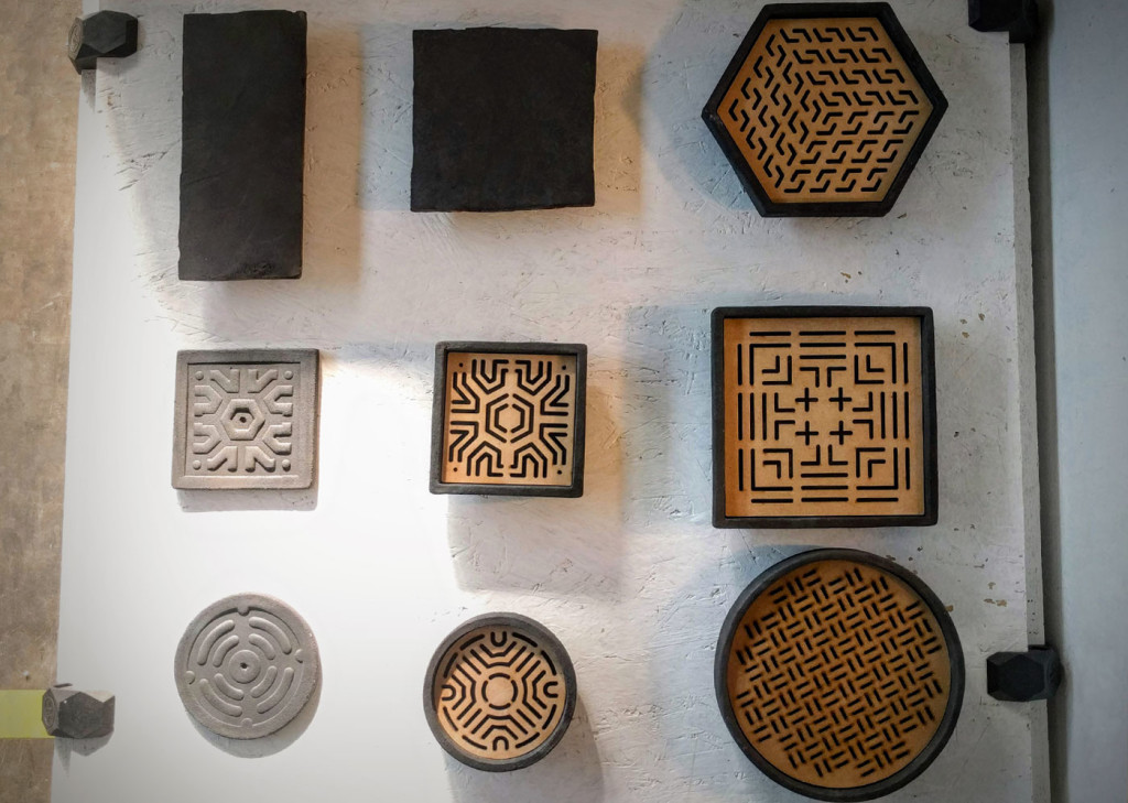 DIN Design at Fuorisalone - raku trays