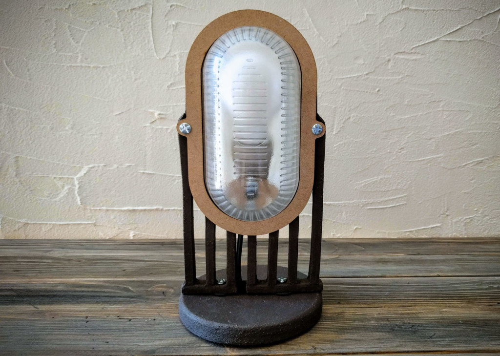 deco lamp front view