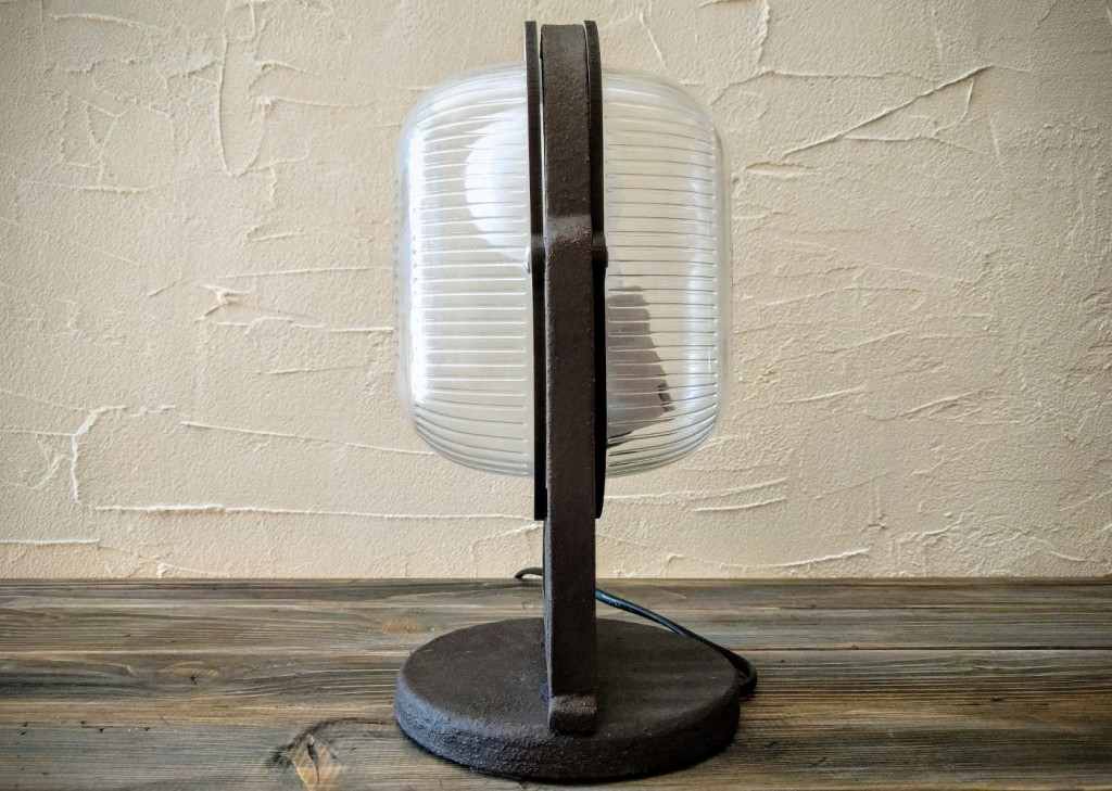 deco lamp side view