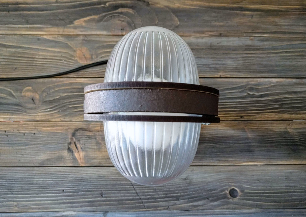 deco lamp top view